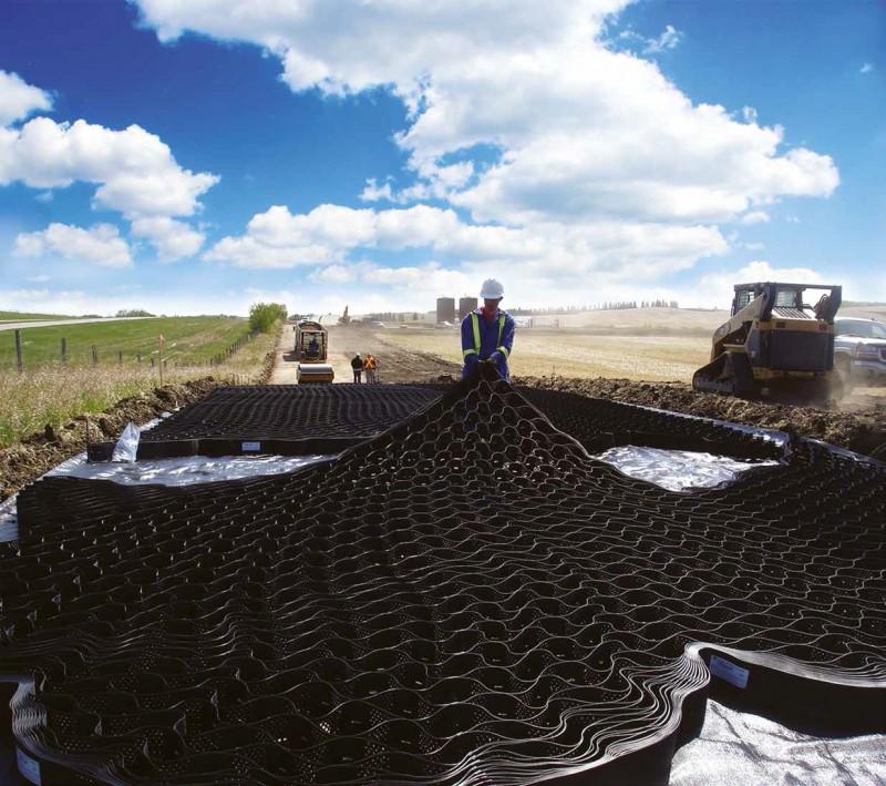 Brug geotekstiler til erosionssikring