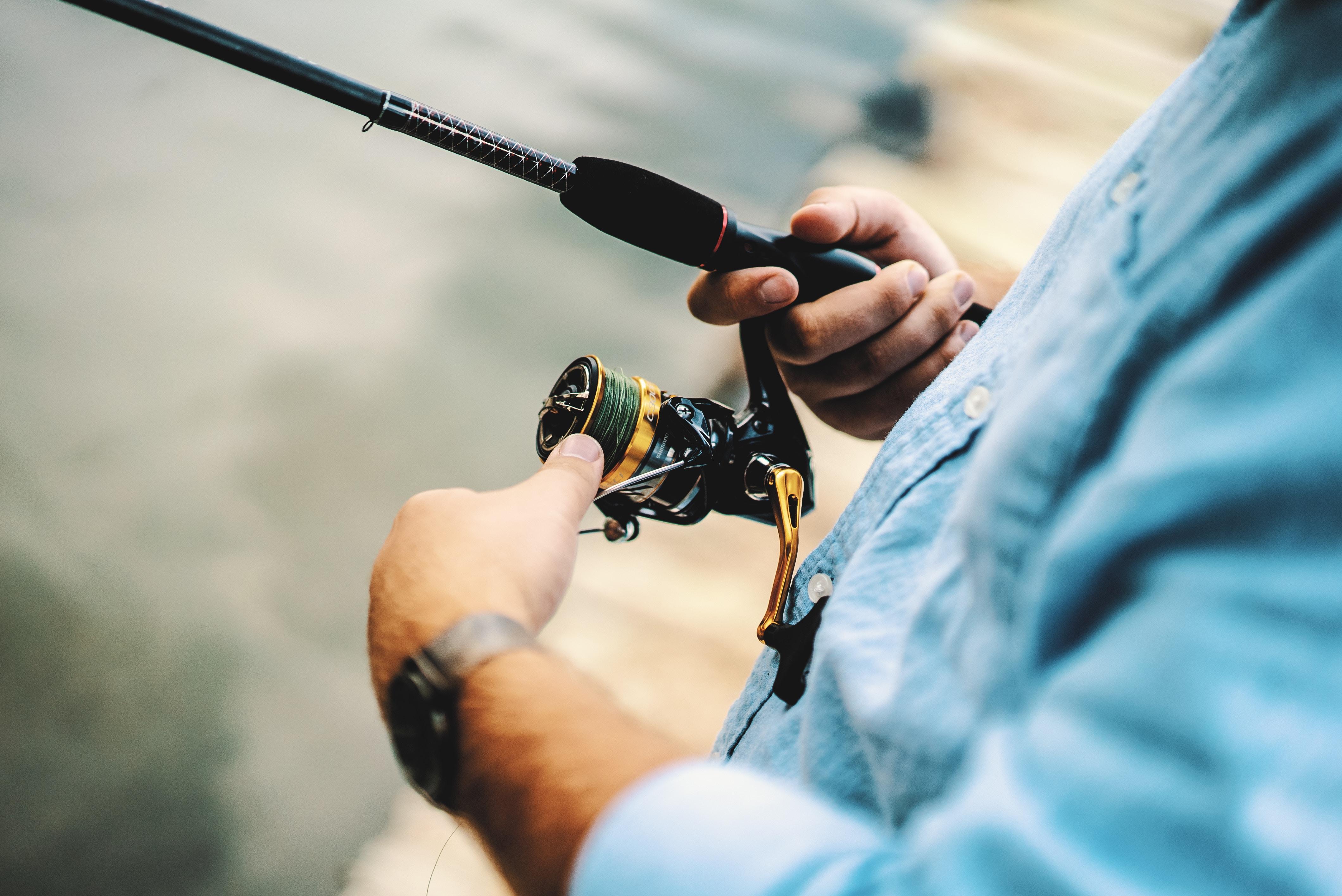 Pirkestænger til særligt fiskeri