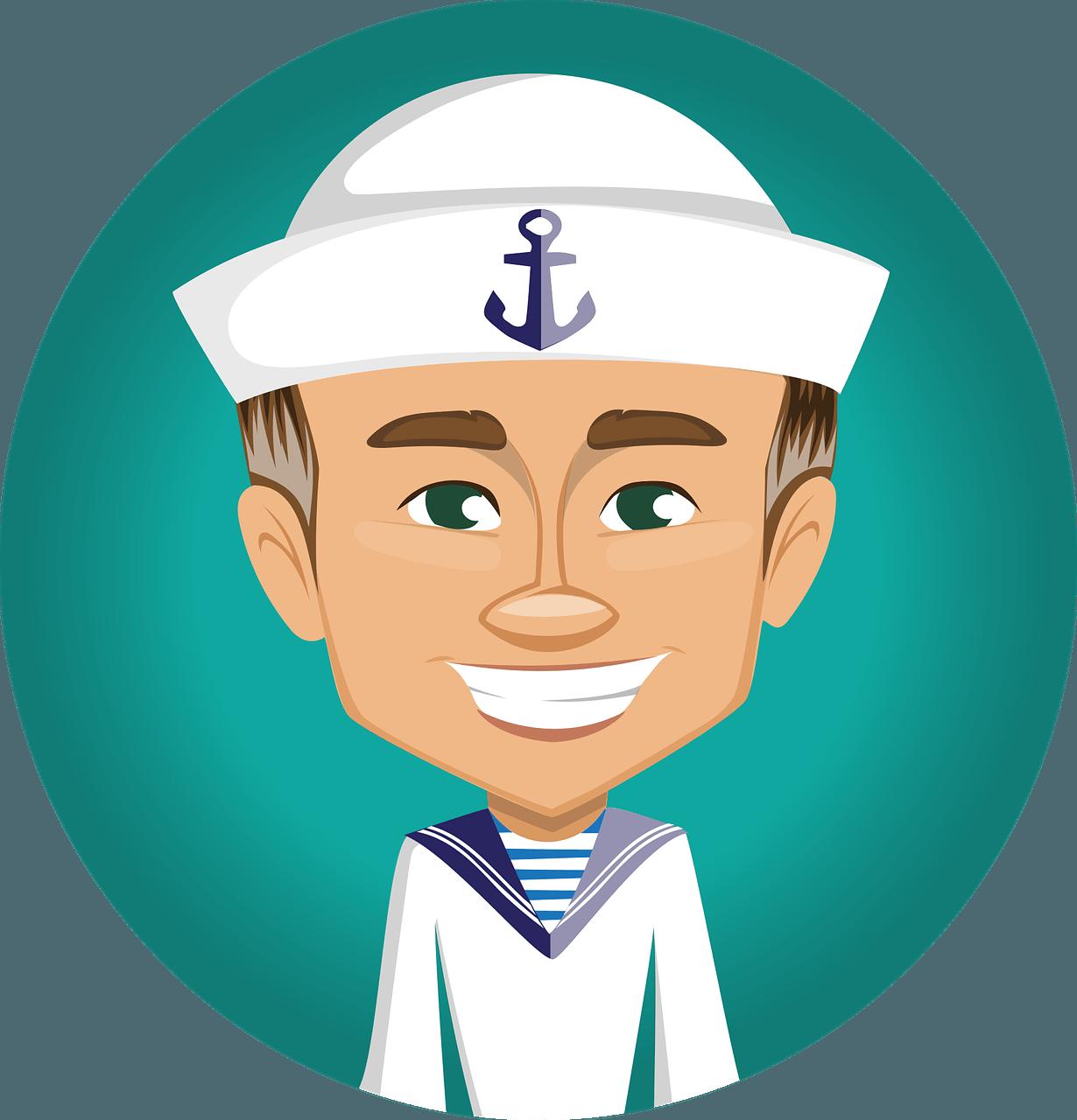 Gå ombord med sejlertøj til mænd